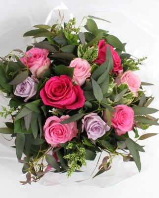 rose des sables bouquet rose
