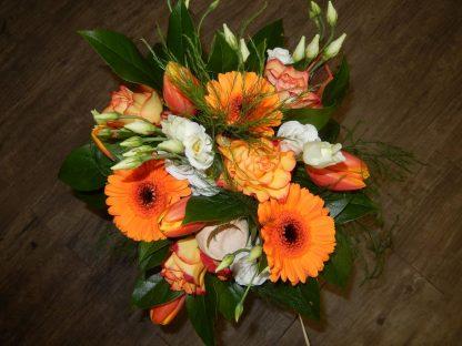 digue bouquet orange